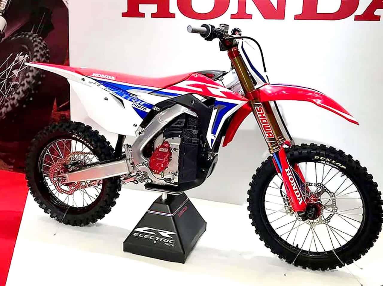 La moto elettrica Honda CR-E MX è pronta per la produzione?